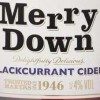 Merrydown Cider's new Blackcurrant flavour