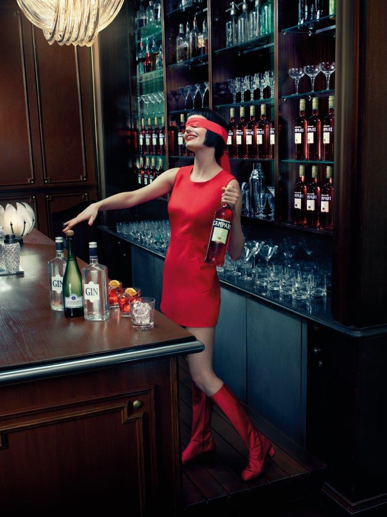 Eva Green -Campari Calendar 2015