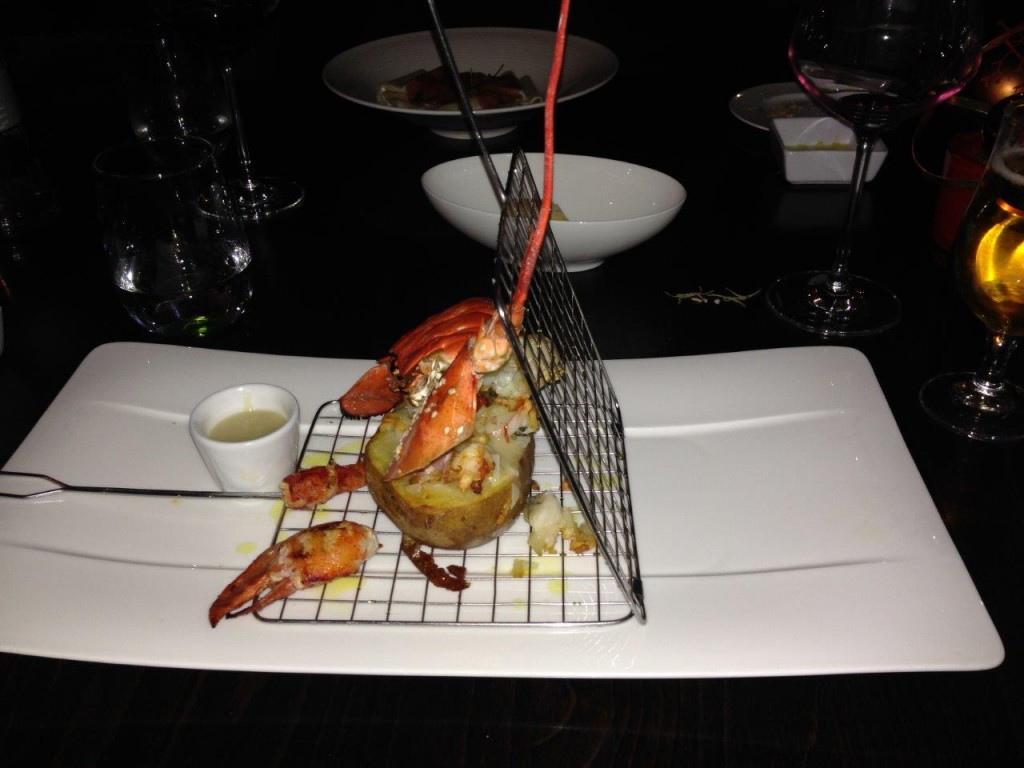 The Lobster was beautifully presented