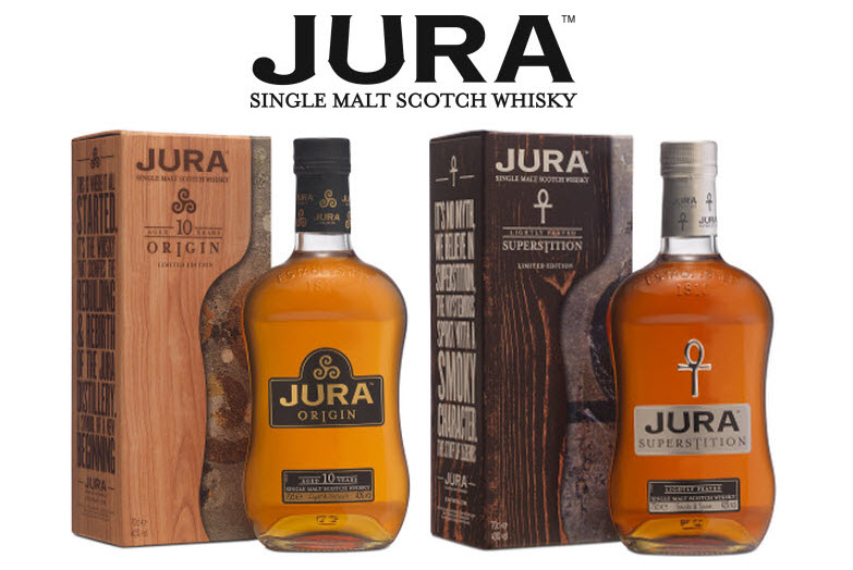 Jura Whisky Selection