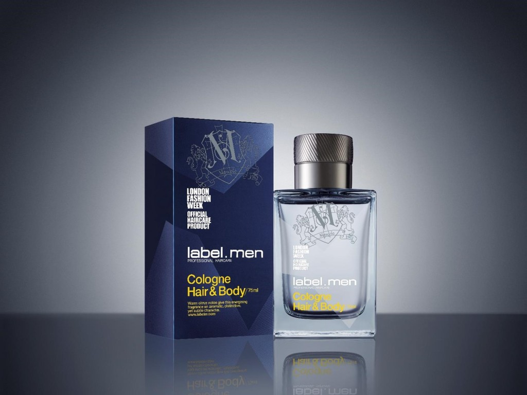 label.men Cologne Hair and Body