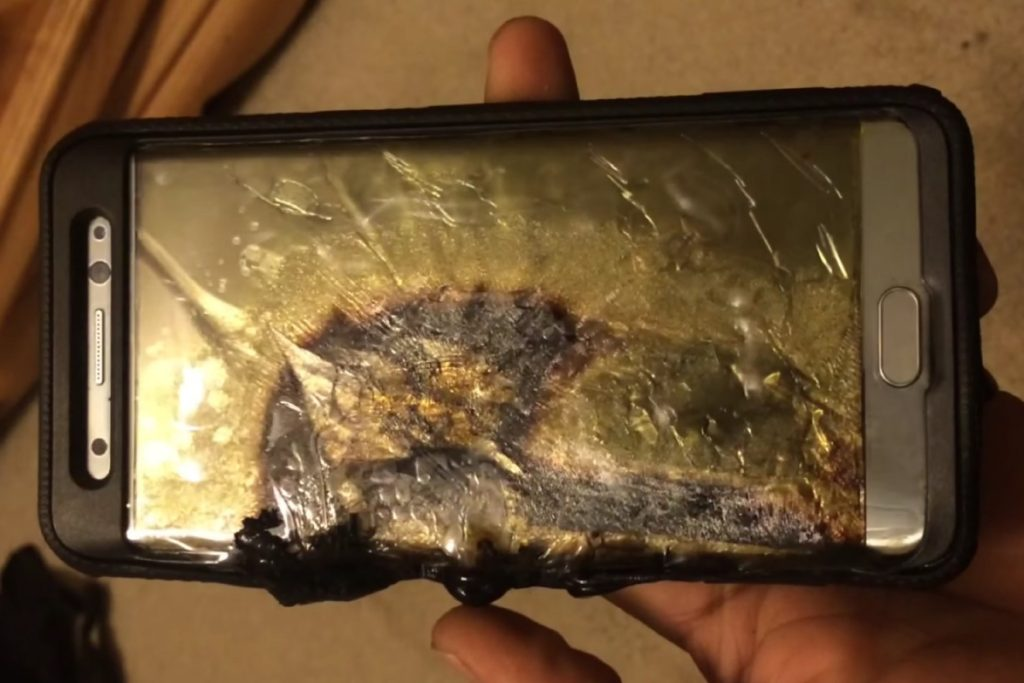 Note 7 Overheating