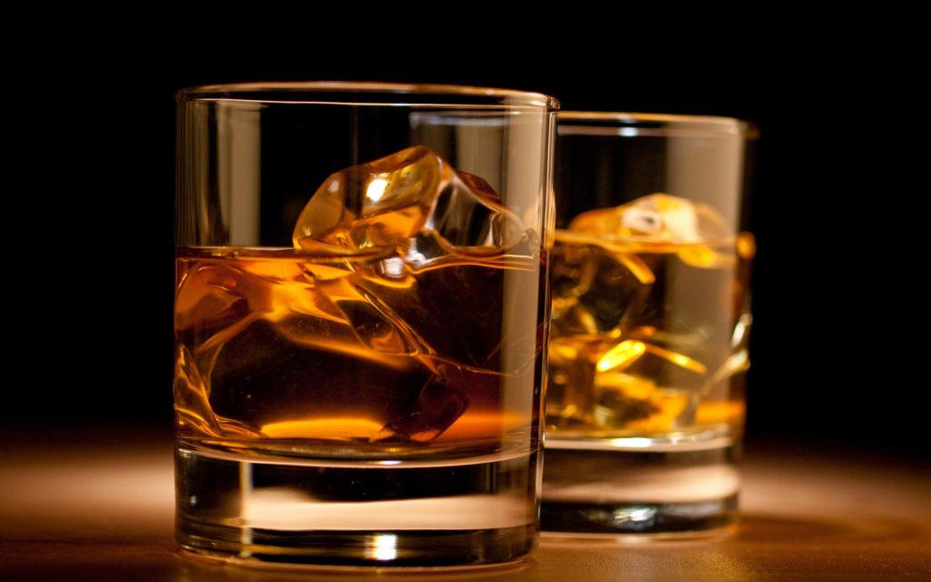 aged whiskies