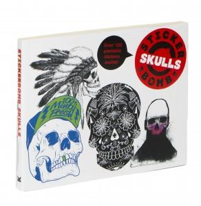 Stickerbomb Skulls_3D