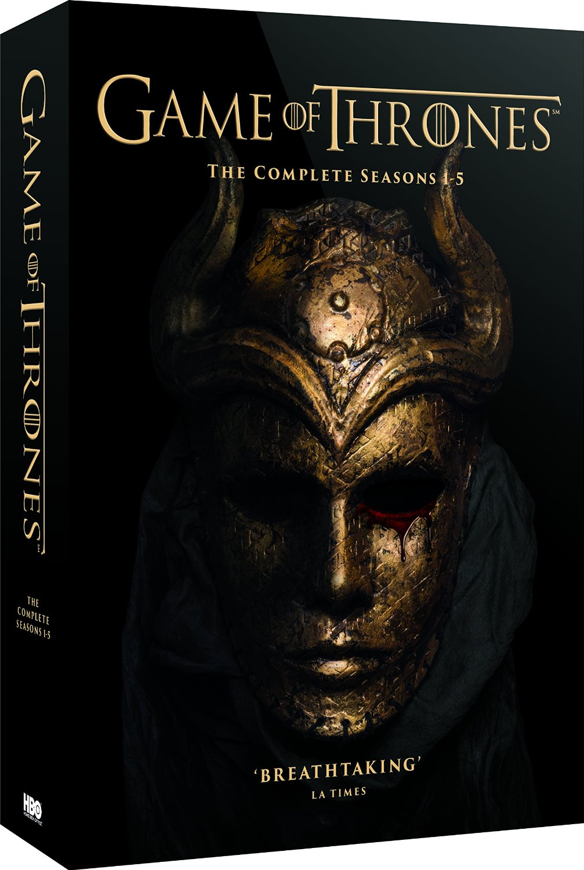 GoT S1-5_DVD